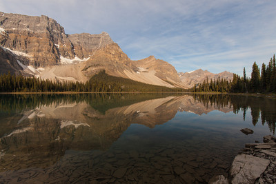 Bow Lake at the Bow River Outlet, Banff