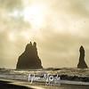 164  G Beach at Vik, Iceland Person