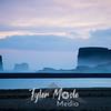 134  G Vik, Iceland Sunset