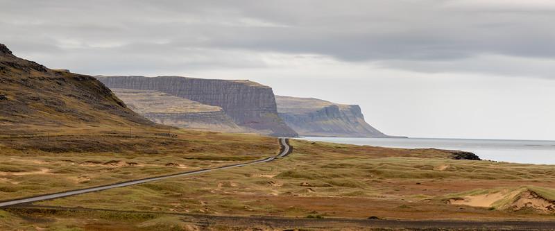 road to Látrabjarg - Westfjords