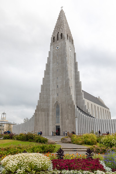 Hallgrímskirkja in Reykjavik