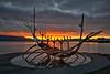 Sunrise Sun Voyager Reykjavik