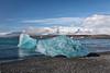 Glacier Ice onBlack Sand Beach