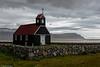 Saubær church,  Rauðisandur, Westfjords