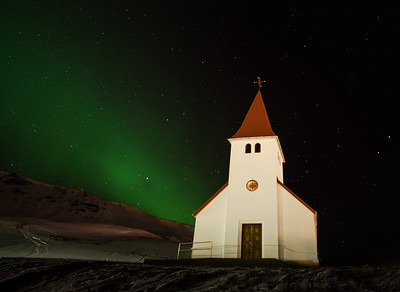 The church at Vik