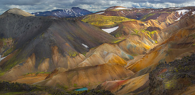 Rhyolite in the Highlands of Iceland