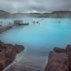 At the Blue Lagoon