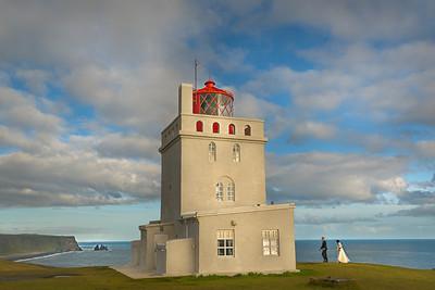 Lighthouse at the Dyrhólaey Promontory