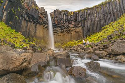 A Svartifoss Waterfall Proposal