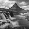 Storm over Kirkjufell Falls