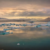 Glacier feeding into Lagoon