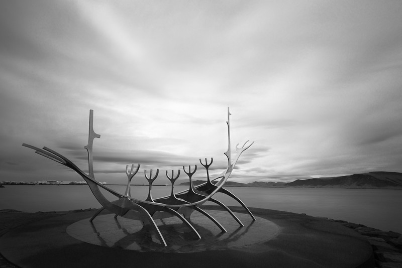 The Sun Voyager Sculpture_Reykjavik