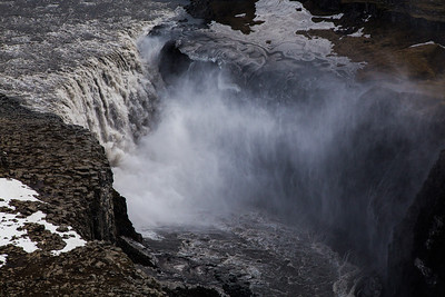 Aerial view of Dettifoss waterfall, North Iceland If you like these images, please check out my Bookstore