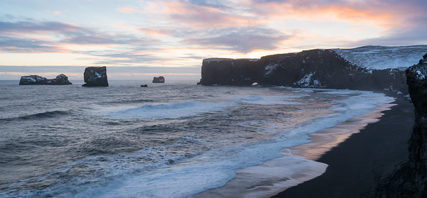 Looking west toward Dyrhólaey, mainland Iceland's southernmost point