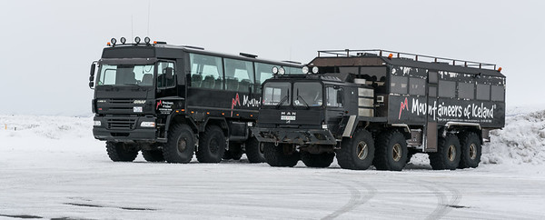 "These tour buses would have been fun as rental vehicles.  ""MAN"" is evidently Icelandic for ""MACK""."