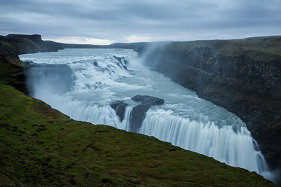 Gullfoss, golden waterfall If you like these images, please check out my Bookstore