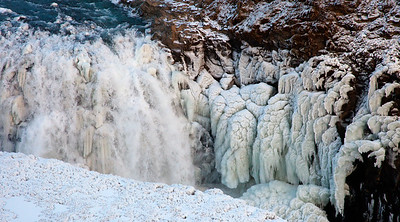 Gulfoss Ice