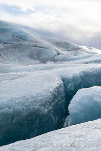 The next day, we took a guided walk on the glacier, Svínafellsjökull.