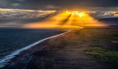Light. Iceland.