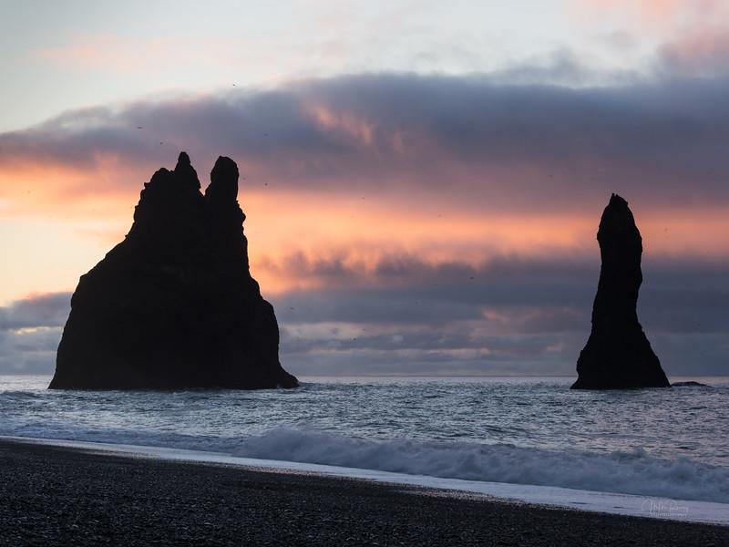Reynisfjara Beach, dawn