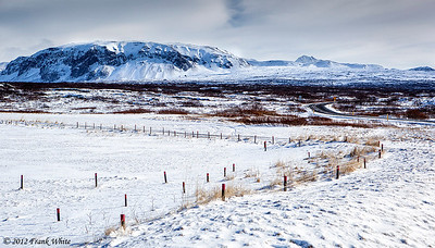 Along the road between Keflavik and Reykjavik.