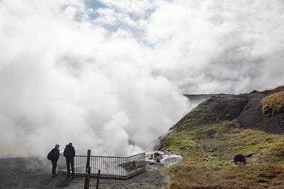 Deildartunguhver thermal spring - West Iceland