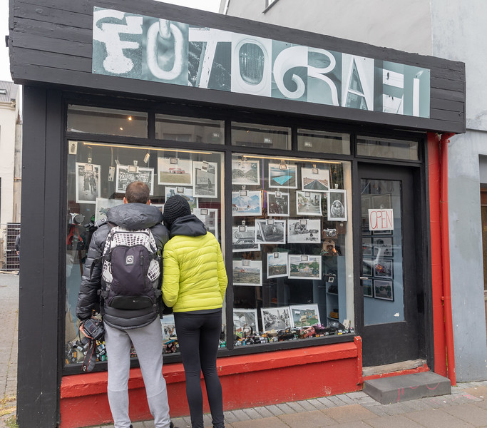 photography store in Reykjavik