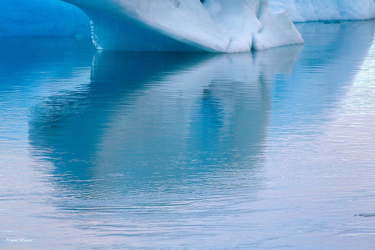 Glacier Lagoon Reflections