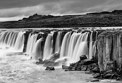 Dettifoss Black and White #1