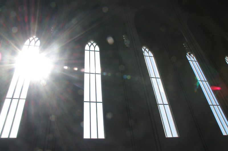 Light of God, Hallgrímskirkja