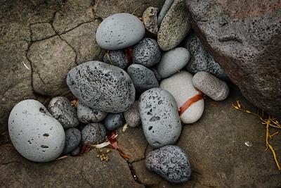 Rocks on the Icelandic coast