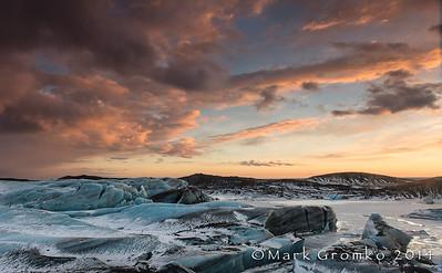 Svínafellsjökull is part of the great Vatnajökull Glacier in Skaftafell National Park