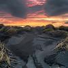 Icelandic Fire Sky