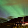 A Lucky Glimpse of the Aurora