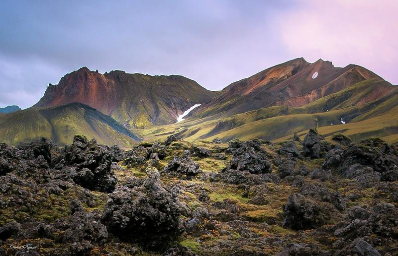 Volcanic Lava Field