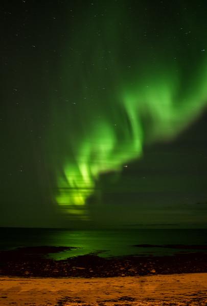 Swirling Reykjanes Sky