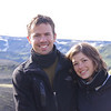 Amir and Eden, a great couple from Israel I met on the Laugavegur! We shared a great israeli breakfast after their tent was washed away by the rain. Good old times!