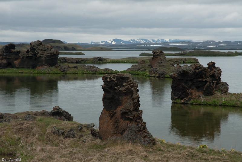 Landscape of Myvatn, Iceland, June 2009 (map it!)
