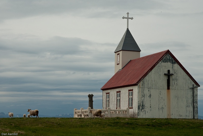 Saudanes kirke, Island 2009