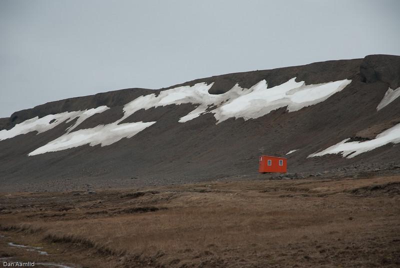 Rød hytte, Island 2009