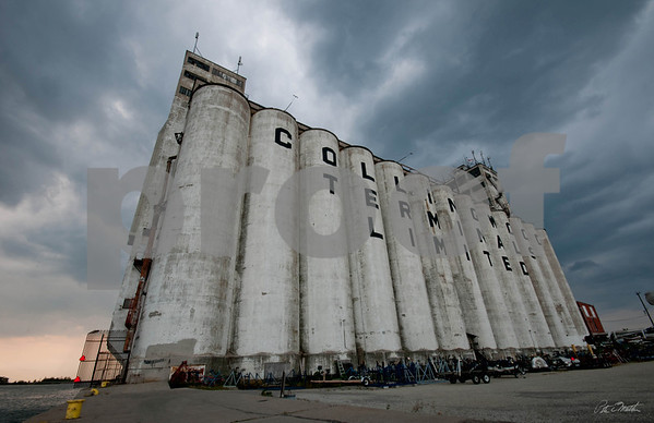 """The Collingwood Grain Ternimal. I call this image """" All In and Moody """"."""