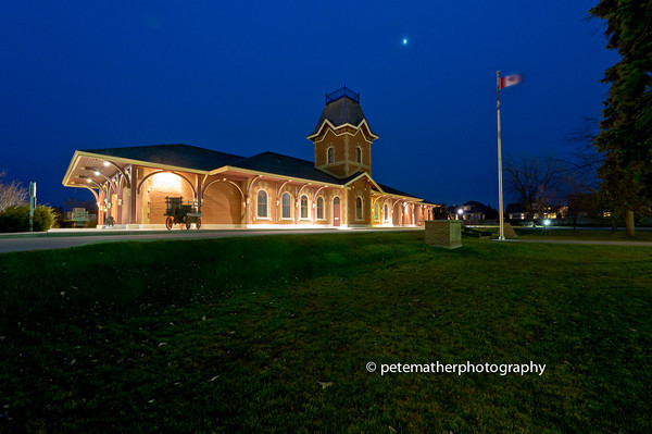 Collingwood Historic Museum. Was an old train Station.
