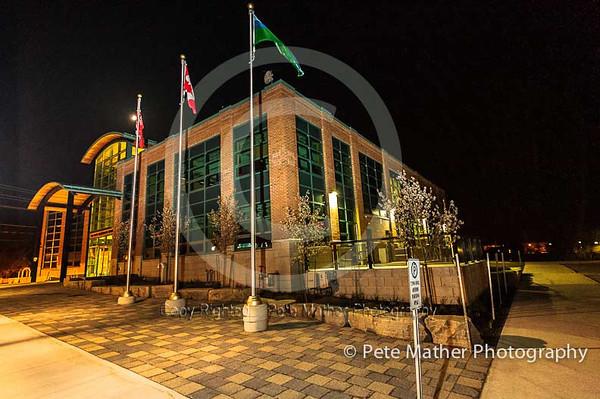 """Thornbury Town Hall At Night"""