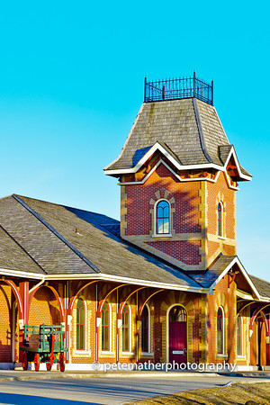 Collingwood Historic Railway Museum. No clouds that day I took the shot by lighting was a.wesome