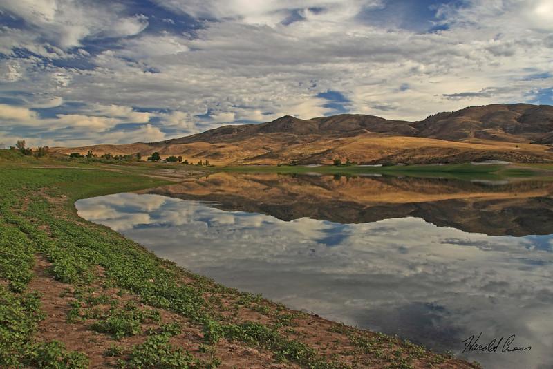 A landscape taken Sep 21, 2010 near Pocatella, ID.