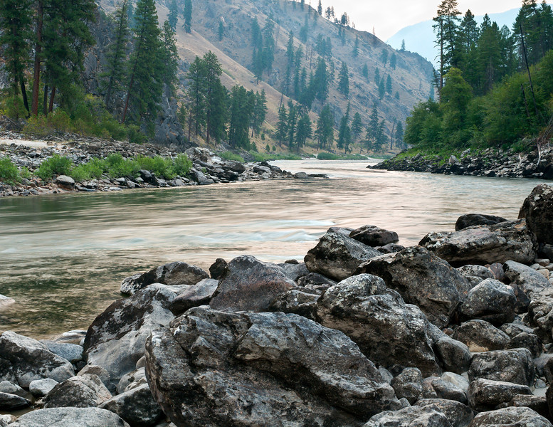 Salmon River Morning