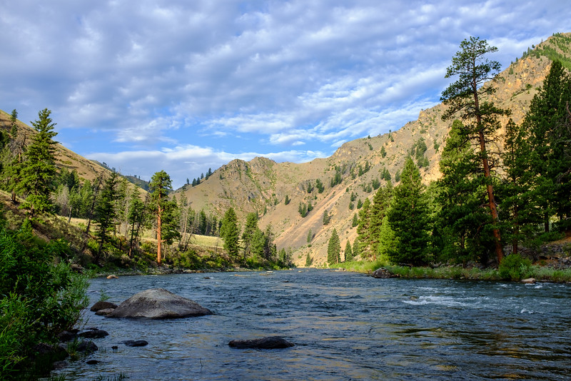 Camas Creek Camp, Middle Fork, Salmon River