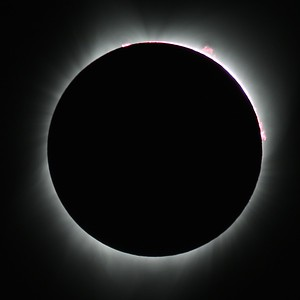Eclipse in Ririe Idaho (totality)