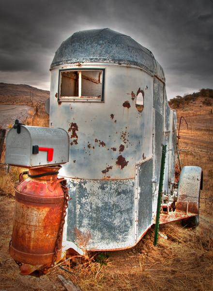 Horser Trailer Gone Postal.