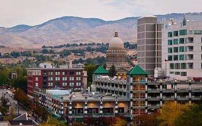 Downtown Boise.